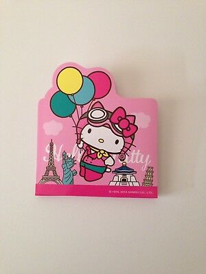 Hello Kitty Sanrio Taiwan Post-it Sticky Notes Memo Pad Pink