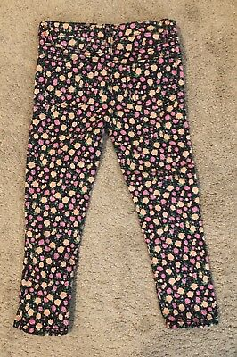 Toddler Girl Clothes Cherokee Size 4 Floral Jeans New