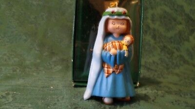 Vintage Collectible M is for Mary Ornament by Mary Engelbreit 1986