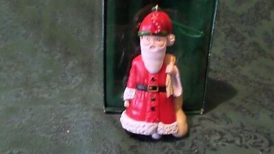 Vintage Collectible S is for Santa Ornament by Mary Engelbreit 1986