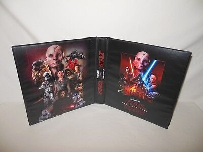 Sur Mesure Star Wars Journey To The Last Jedi Cartes à Collectionner Album Liant