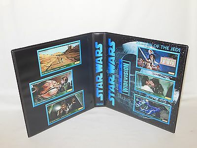 Sur Mesure Star Wars Widevision Return Of The Jedi Cartes à Collectionner Album