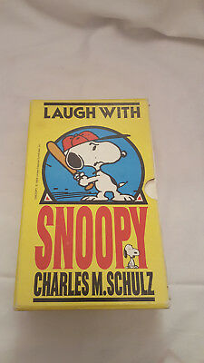 Peanuts Book Box Set - Laugh with Snoopy - 1980