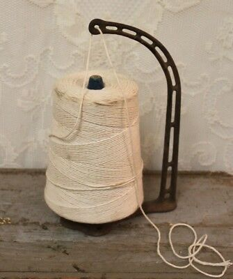 Antique Cast Iron General Store Counter Top String Holder With String #205