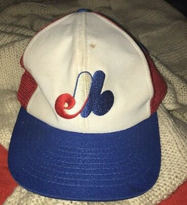 ANNCO VINTAGE MONTREAL Expos MLB Baseball Cap Hat Used -  17.99 ... 68ef57eb3063