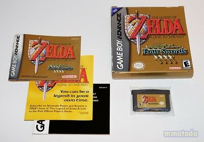 Legend of Zelda A Link to the Past + Four Swords GBA Complete CIB Free Shipping