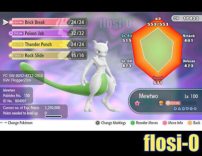 6IV Shiny Mewtwo X & Mewtwo Y builds Pokemon Lets Go Guide [Lets Go P/E]