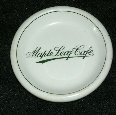 Maple Leaf Cafe Butter Pat John Maddock & Sons England