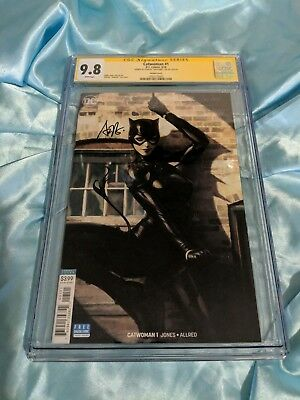 Dc Comics ~ Catwoman #1 Variant ~ Cgc Ss 9.8 Signed By Stanley Artgerm Lau