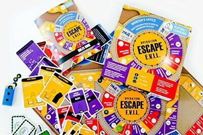 ESCAPE EVIL Fun Educational Board Games STEM Toys On CHEMISTRY For Kids 8-10 9-