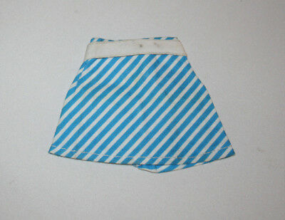 VINTAGE 70s PEDIGREE SINDY UK SKIRT STRIPED FITS TAMMY IDEAL SUSI BARBIE