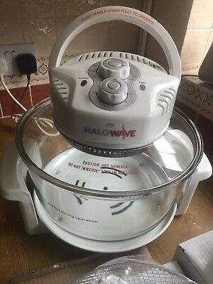 HALOWAVE HALOGEN OVEN CKY-381M-4 Instructions Manual Etc Includes.