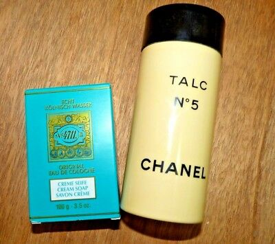 Vintage Chanel Powder And 4711 Soap