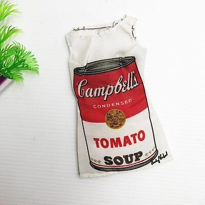 Barbie Collector Andy Warhol Campbell's Soup Doll Clothes: Oversized Tee
