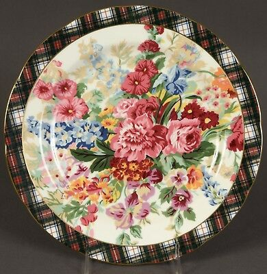 Exquisite Wedgwood Ralph Lauren Hampton Floral Dinner Plate