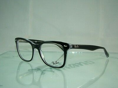 Ray Ban RB 5285 2034 BLACK Spectacles Glasses Eyeglasses Frames Size 53