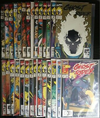 Ghost Rider 58 issues. Marvel