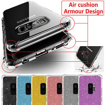 Case For Samsung Galaxy S9 S8  Plus J4 J6 A6 + Shockproof Gel Clear Armour Cover