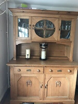 Beautiful antique victorian dresser German