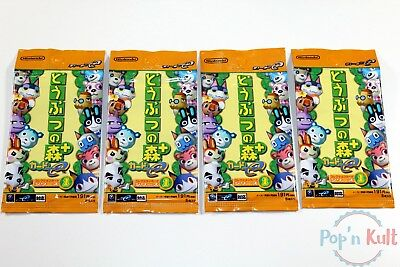 4x Boosters Animal Crossing e-Reader Cards 1st Serie Nintendo GameCube [JAP] NEW