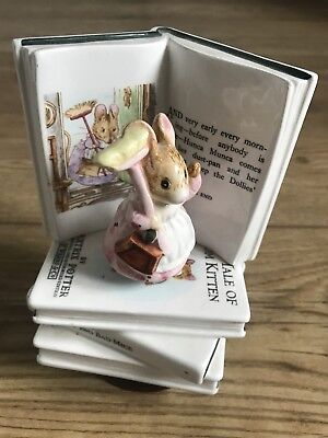 Schmid Beatrix Potter The Tale Of Two Bad Mice Figurine Rotating Music Box