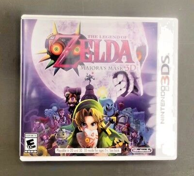 The Legend of Zelda: Majora's Mask 3D (Nintendo 3DS) (NTSC-U/C)