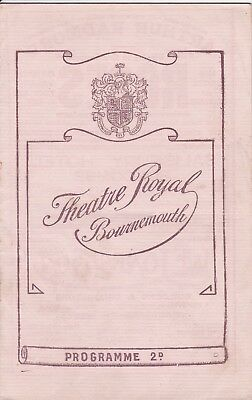 "Bournemouth-Theatre Royal - ""No,No, Nanette"" - week April 12th. 1926"