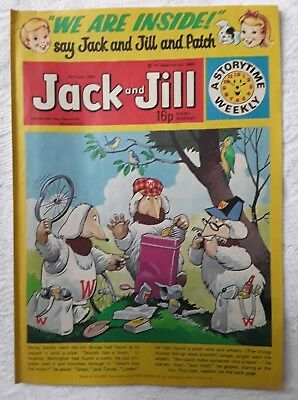 Vintage Jack and Jill Comic: 26th July 1980