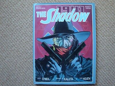 The Shadow: Hitler's Astrologer 1941 O'Neil, Kaluta, Heath Hardcover Marvel 1988