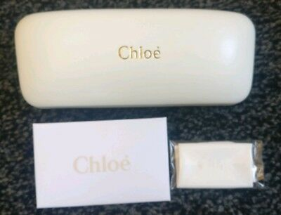 Chloe Glasses Case - New With Cleaning Cloth