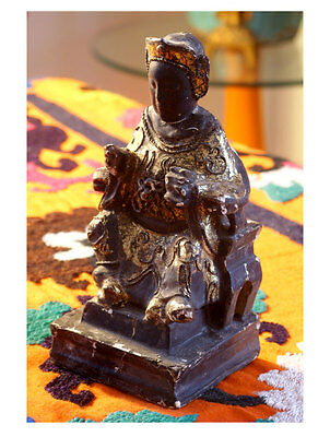 Special sale for Black Chinese Emperor Temple Figure was $199 now $149