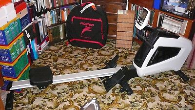 Horizon Oxford Air Rower 5 Rowing Machine with Air Resistance Flywheel