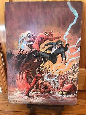 The Occult Files Of Dr. Spektor Original Cover Painting