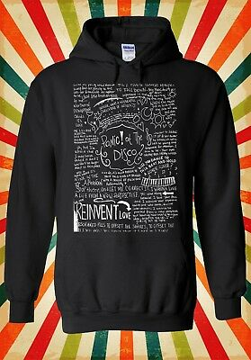 Panic At The Disco Band Lyric Retro Men Women Unisex Top Hoodie Sweatshirt 1875