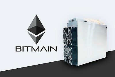 Bitmain Antminer E3. APW3++ & Cord.  Mine ETC / ETH  ASIC ~200MH/s Free Shipping