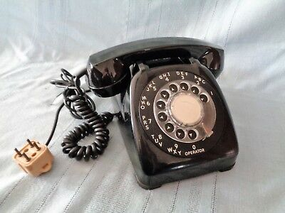 Vintage Automatic Electric 80 Telephone