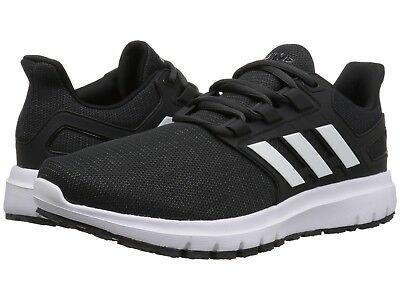 san francisco c5f19 0d95c NEW Mens Adidas Energy Cloud 2 Collegiate Core Black White Carbon Running  Shoes