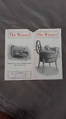 "1800's Ottawa Ontario Advertising Label The ""Winner""  J.H. Connor & Son Limited"