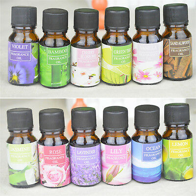 10ml Natural Essential Oils Aromatherapy Essential Oil Fragrance Aroma New O14