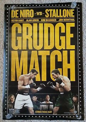 Grudge Match 27x40 Double Sided DS Authentic Movie Poster (Stallone/De Niro)