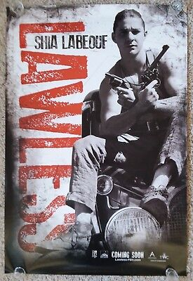 Lawless 27x40 Double Sided DS Authentic Movie Theater Poster (Shia Labeouf)