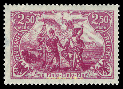 """EBS Germany 1920 """"North and South United"""" 2.50 Mark Michel 115 MNH**"""