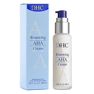 DHC Renewing AHA Cream, 45 ml, includes free samples RRP £38.50