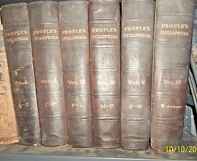 Antique Encyclopedia Set 1895