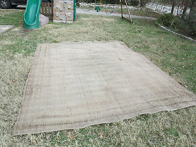 Antiques Area Rug 9 X 12 1910s, 1920s??