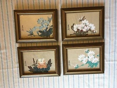 Vintage Hand Painted Pictures
