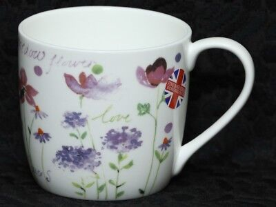 ROSE of ENGLAND MEADOW FLOWERS Fine Bone China Barrel Mug #2