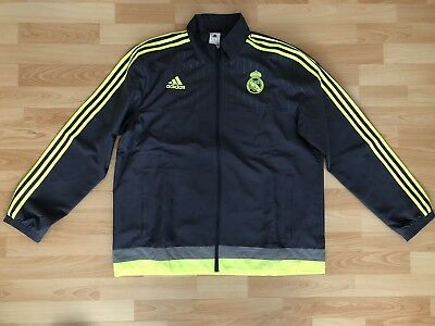 Adidas Real Madrid Trainingsanzug Gr XL Grau