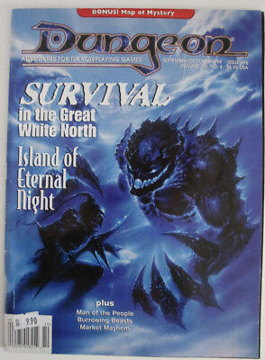 Dungeon Magazine, Issue #76, Sept/Okt 1999 (advanced dungeons and dragons etc.)