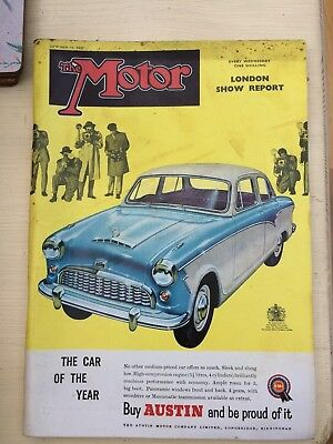 The Motor Magazine,  October 23rd 1957, London Show Report, One Shilling